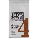 Jed's Coffee Co: 4 Plunger Coffee (200g)