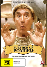 Further Up Pompeii on DVD