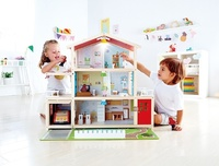 Hape: Doll Family Mansion - Wooden Doll House image