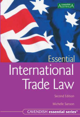 Australian Essential International Trade Law by Michelle Sanson image