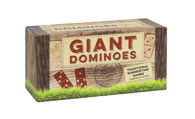 Traditional Wooden Giant Dominos Game