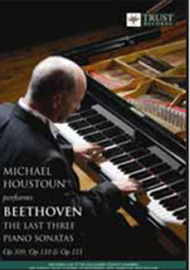 Michael Houstoun Performs Beethoven - The Last Three Piano Sonatas on  image