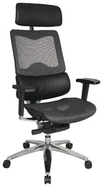 Croxley Tokyo Executive Mesh Back Chair (Black Leather)