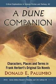 A Dune Companion by Donald E. Palumbo image