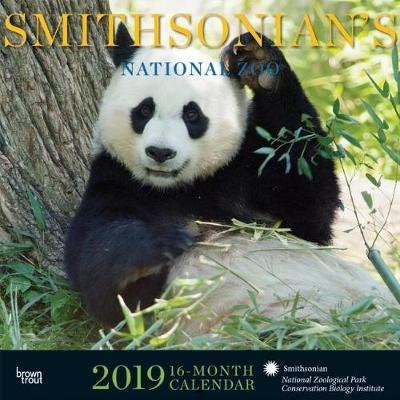 Smithsonian National Zoo 2019 Square Hachette by Inc Browntrout Publishers