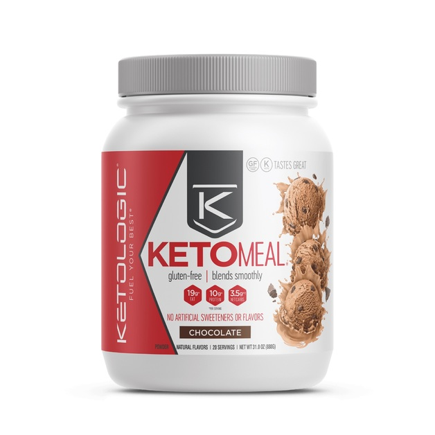 Ketologic: Keto Meal - Chocolate (16 Serves)