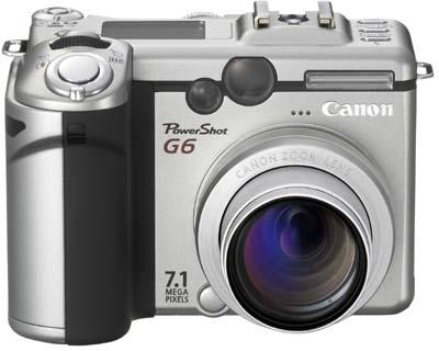 Canon Digital Camera Powershot 7.1MP G6 image