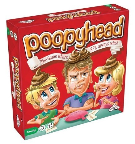 Family Game: Poopyhead - Board Game