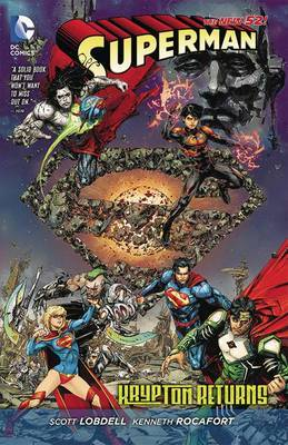 Superman: Krypton Returns (The New 52) by Scott Lobdell