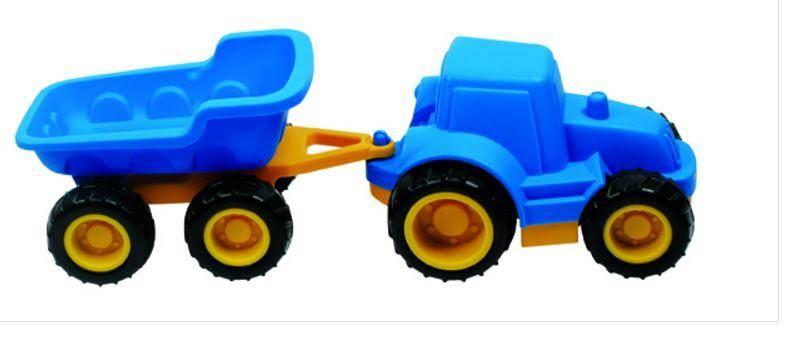 Hape: Tractor & Hopper Trailer image