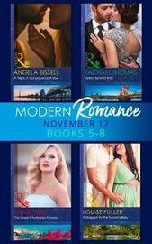 Modern Romance Collection: November 2017 Books 5 - 8 by Rachael Thomas image