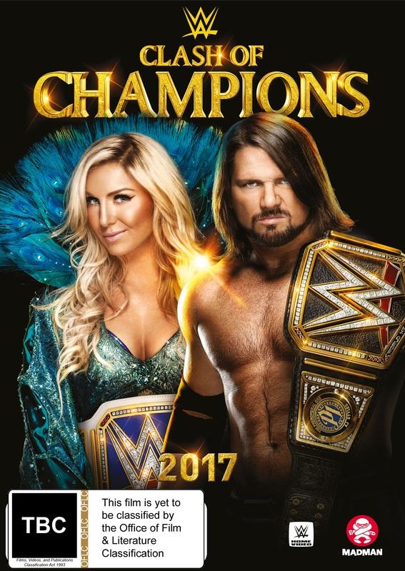 WWE: Clash Of Champions 2017 on DVD
