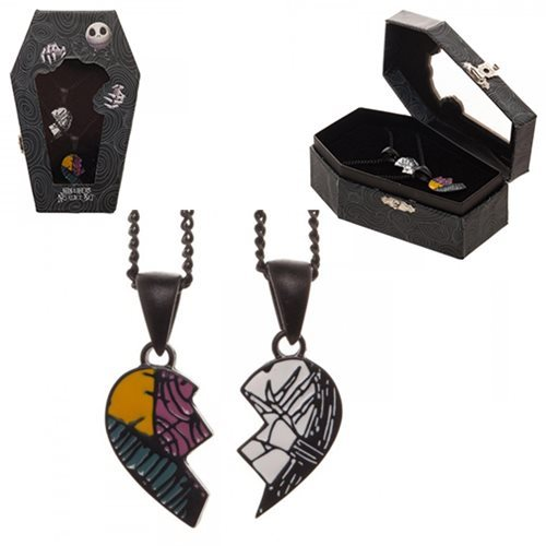 Nightmare Before Christmas - His & Hers Necklace Set