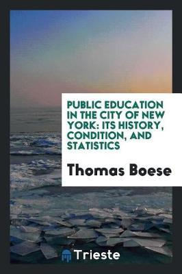 Public Education in the City of New York by Thomas Boese image