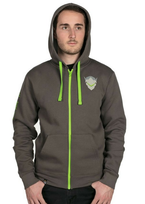 Overwatch: Ultimate Genji - Zip-Up Hoodie (XS)