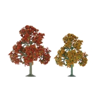 JTT: HO Scale - Scenic Fall Deciduous (9 Pack)