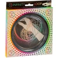 Infinity Loop Flow Ring - Silver