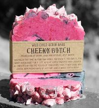 The Crafty Chook Cheeky Bitch Soap