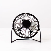 Easy Breezy Desk Fans (Black/Silver) image