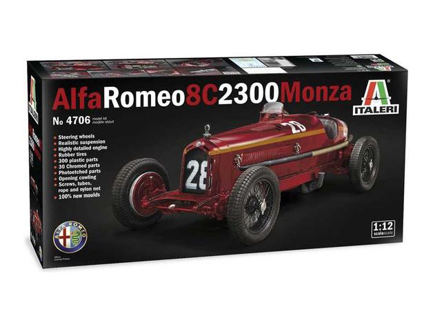 Italeri: 1/12 Alfa Romeo 8C 2300 Monza - Model Kit