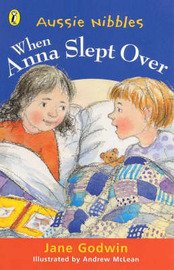 When Anna Slept over by Jane Godwin image