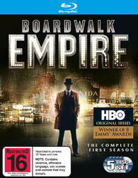 Boardwalk Empire - The Complete First Season on Blu-ray