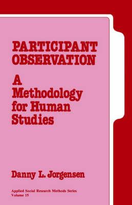 Participant Observation by Danny L. Jorgensen