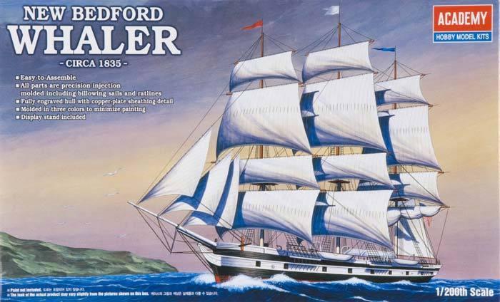 Academy New Bedford Whaler 1/200 Model Kit image