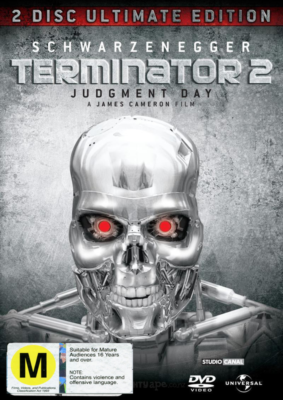 Terminator 2: Judgment Day - Special Limited Edition Steelbook on DVD
