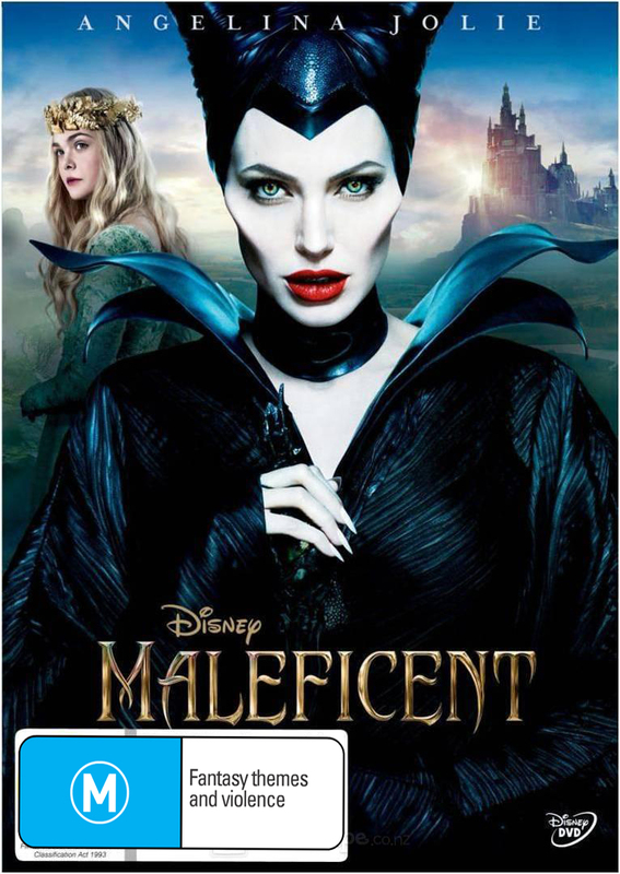 Maleficent on DVD
