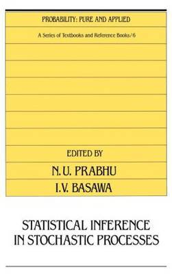Statistical Inference in Stochastic Processes by N.U. Prabhu image