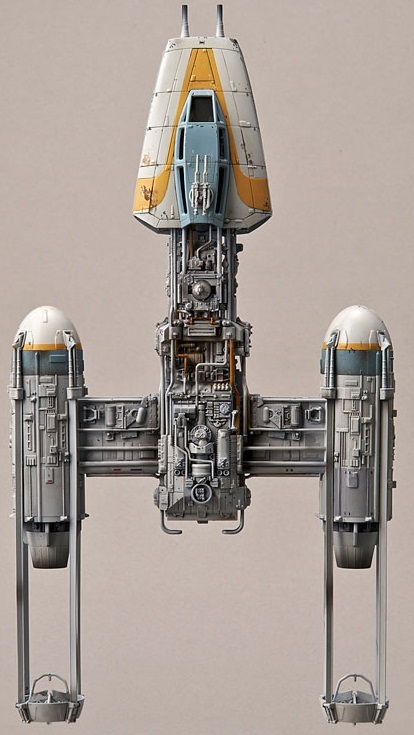 Star Wars: 1/72 Y-Wing Starfighter Model Kit image
