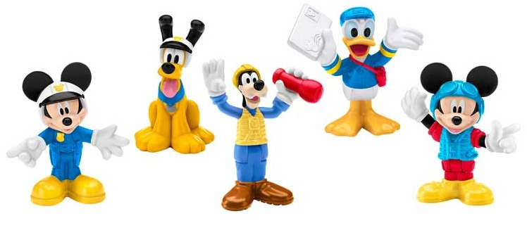Mickey's Clubhouse - Airport Goofy Figure image