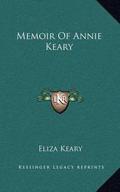 Memoir of Annie Keary by Eliza Keary