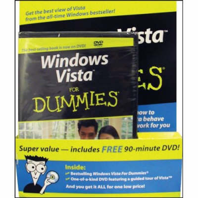 Windows Vista for Dummies, Special DVD Bundle by Andy Rathbone image