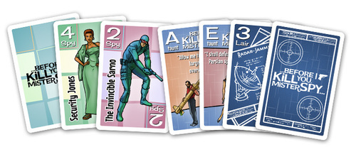 Before I Kill You Mister Spy - Card game image