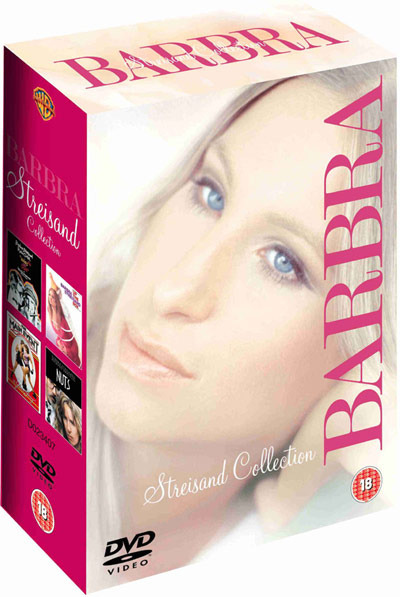 Barbra Streisand Collection (Warner - 4 Disc Box Set) on DVD image