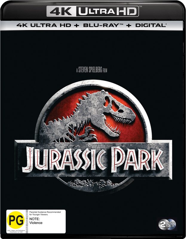 Jurassic Park Uhd Blu Ray Buy Now At Mighty Ape Australia