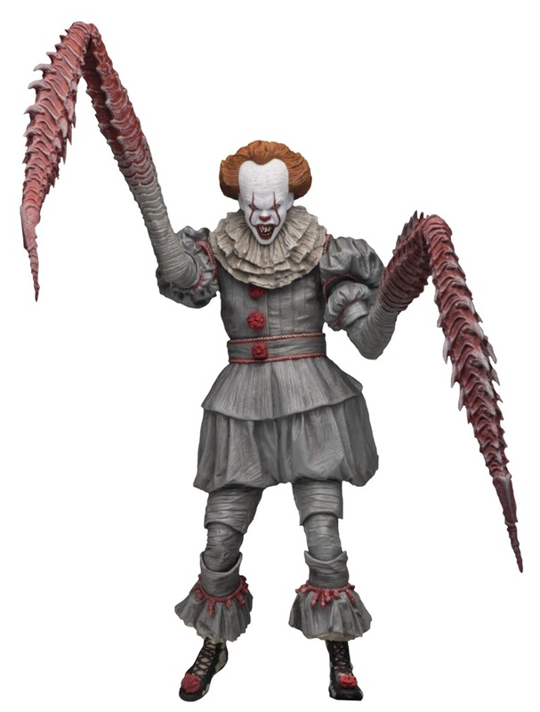 "It (2017) - Pennywise (Dancing Clown) - 7"" Ultimate Action Figure"