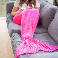 Mermaid Blanket (Pink)