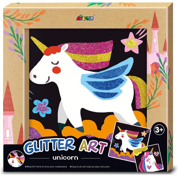 Avenir: Photo Frame - Glitter Art Kit (Unicorn)