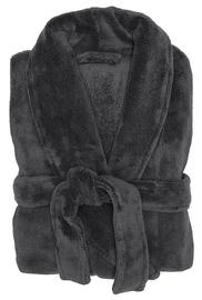 Bambury: Charcoal Microplush Robe - Charcoal