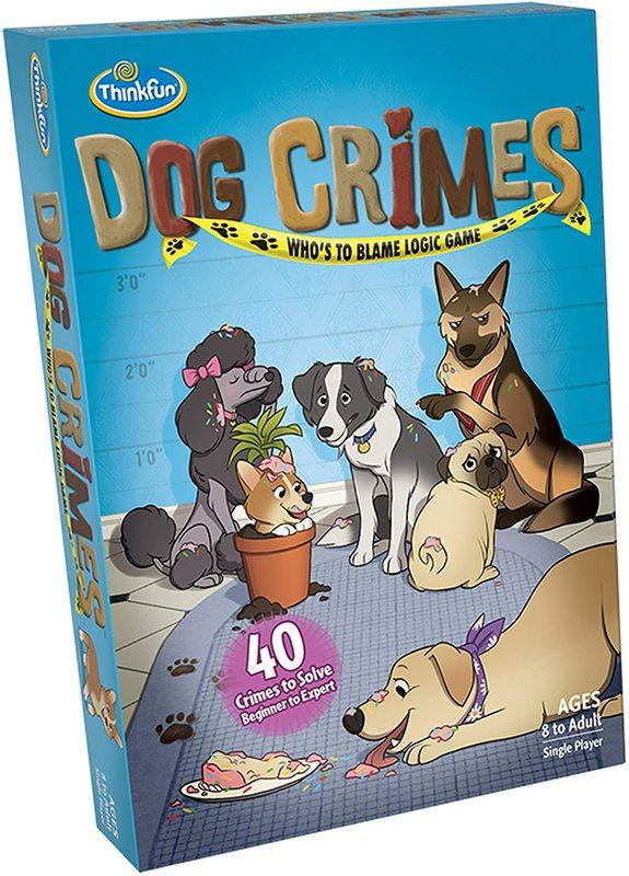 Thinkfun: Dog Crimes - Logic Game