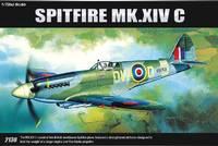 Academy Spitfire MK.XIVc 1/72 Model Kit image