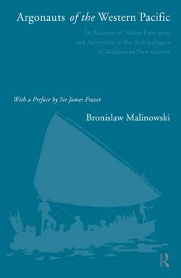 Argonauts of the Western Pacific by Bronislaw Malinowski image