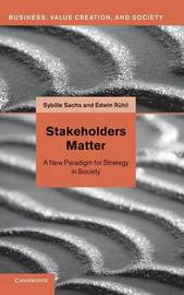 Stakeholders Matter by Sybille Sachs