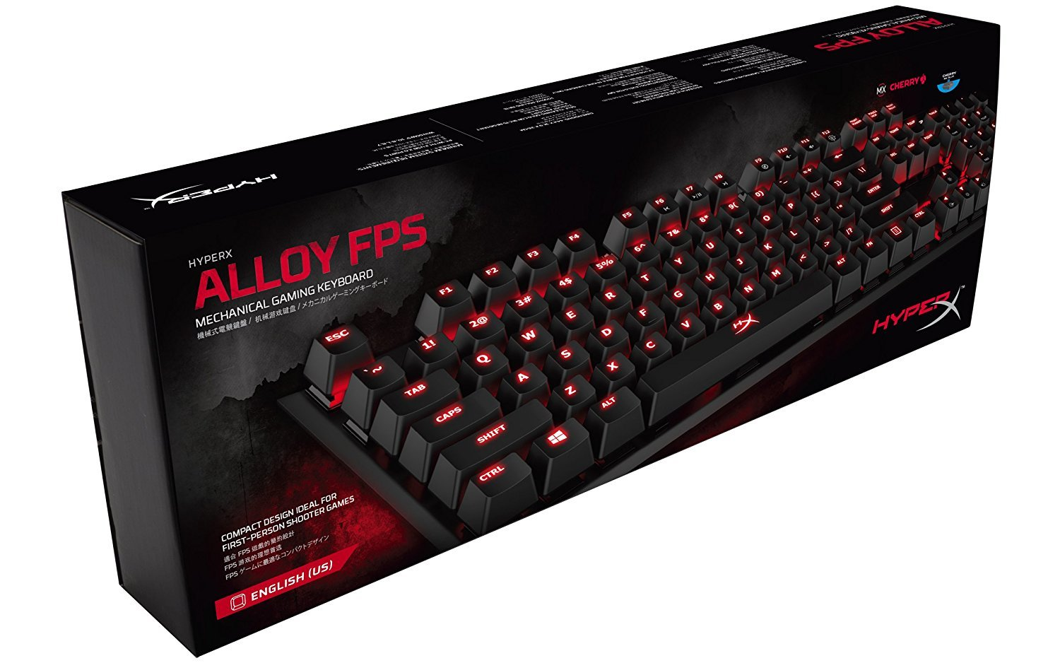 HyperX Alloy FPS Mechanical Gaming Keyboard (Cherry MX Blue) for PC image