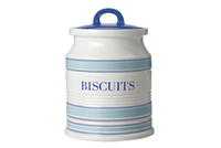 Maxwell & Williams: Coastal Stripes Canister - Biscuits (2L) Gift Boxed