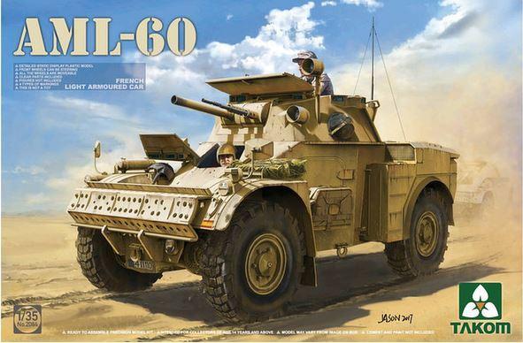 Takom 1/35 French Light Armoured Car AML-60 Model Kit