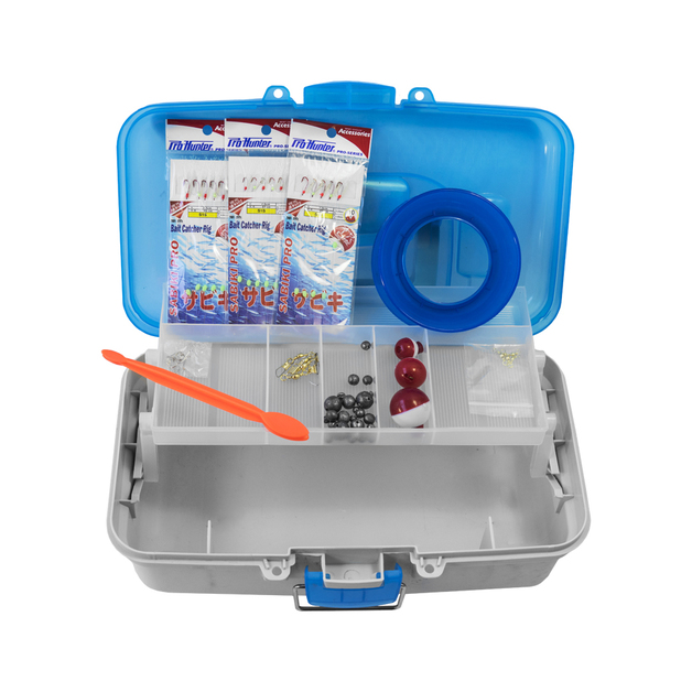 Pro Hunter 50 Piece Junior Tackle Kit (Blue)